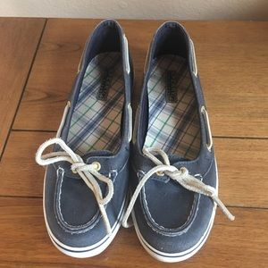 Sperry Top Sider Slip Ons, 7.5